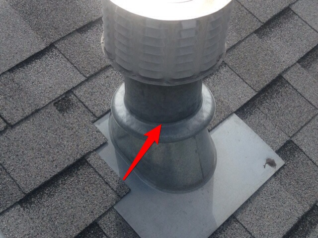 Chimney Collars with a heat resistant sealant